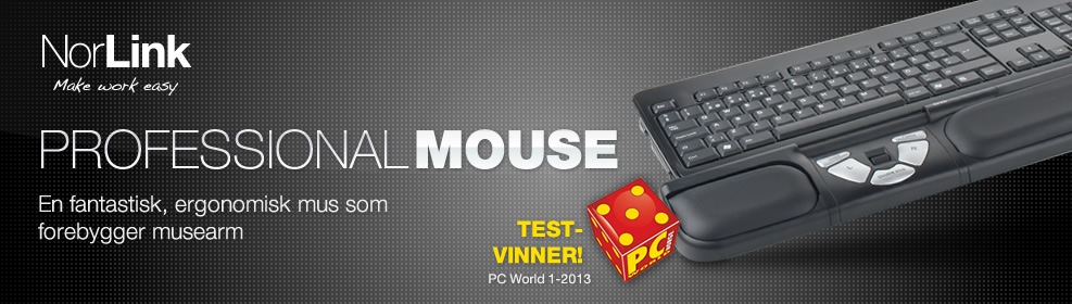 NorLink Professional Mouse banner